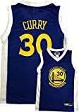 Stephen Curry Golden State Warriors Blue Youth Replica Player Jersey (X-Large 14/16)