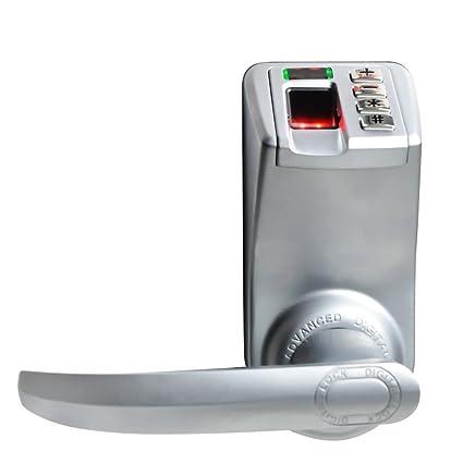 788 Trinity Tekit pantalla LED sin llave biométrica huella digital cerradura de puerta antihuellas + contraseña