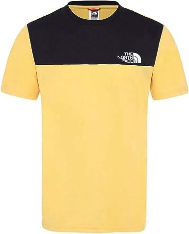 The North Face Camiseta Himalayan Amarillo L Amarillo: Amazon.es: Ropa y accesorios