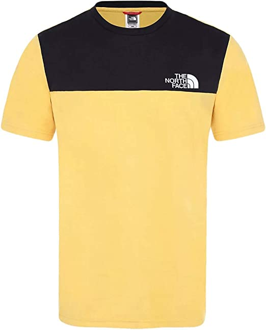 The North Face Camiseta Himalayan Amarillo L Amarillo: Amazon.es: Ropa y accesorios