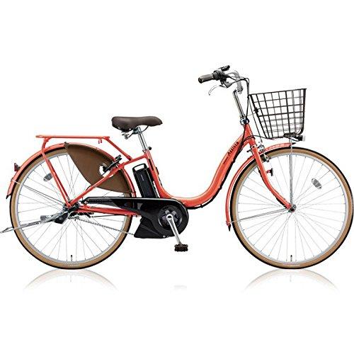 ブリヂストン(BRIDGESTONE) アシスタファイン A6FC18 26インチ 電動アシスト自転車 専用充電器付 B075SDGG15 E.Xフラミンゴオレンジ E.Xフラミンゴオレンジ