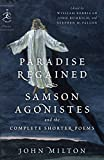 Paradise Regained, Samson Agonistes, and the