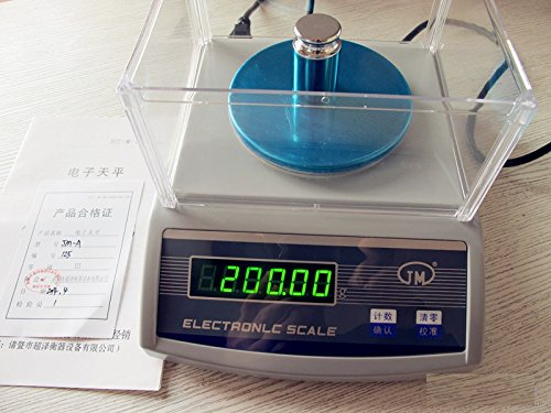 100 Sqcm Round Sample Cutter+precision electronic balance scale 1000g 0.01g USG by KEYUHOPE (Image #3)