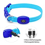 Vizpet Led Light Up Collar, USB Rechargeable Loop