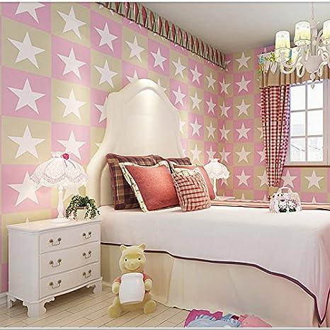 Cartone animato per bambini stars parete camera da letto ...