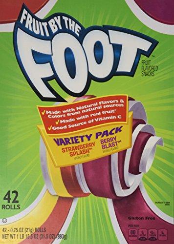 Betty Crocker Fruit Snacks Variety Pack, STRAWBERRY SPLASH/BERRY BLAST 48 (Strawberry Splash)