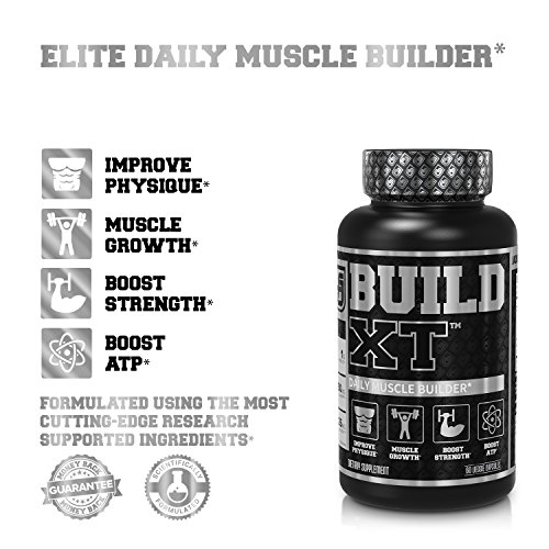 BUILD-XT Muscle Builder - Daily Muscle Building Supplement