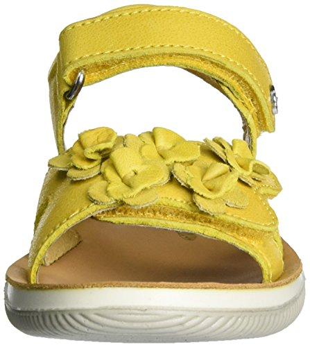 Naturino Mädchen 5740 Offene Sandalen Gelb