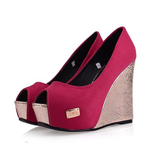 Massif enfiler Bout Heels pumps High Ouvert shoes Femme Pêche à balamasa pUqatwS