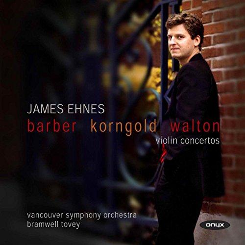 Barber, Korngold, Walton: Viol...
