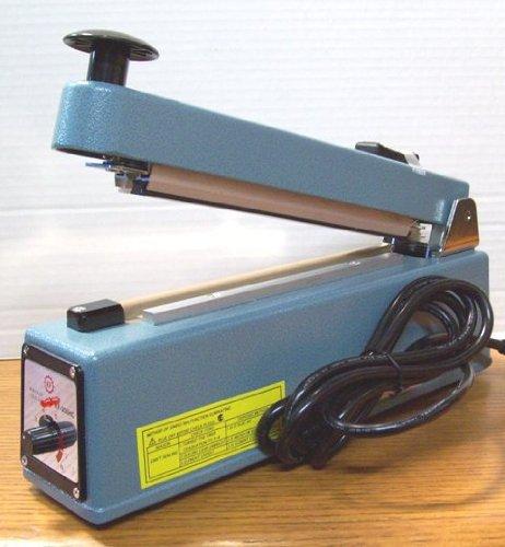 "SealerSales KF-205HC 8"" Heat & Bag Sealer w/ Cutter & 5mm Seal from ABC Office"