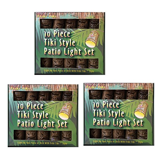 Bamboo Patio Lights String in US - 7