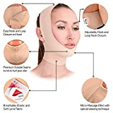 Post Surgical Chin Strap Bandage for Women - Neck