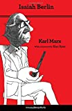 img - for Karl Marx: Thoroughly Revised Fifth Edition book / textbook / text book