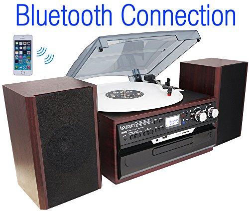 Boytone BT 24DJM Turntable Bluetooth Connection product image