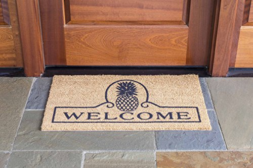 DeCoir Pineapple Welcome Coir Doormat product image