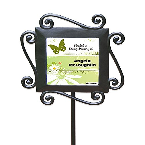 (GiftsForYouNow Personalized Planted in Loving Memory Garden Stake from)