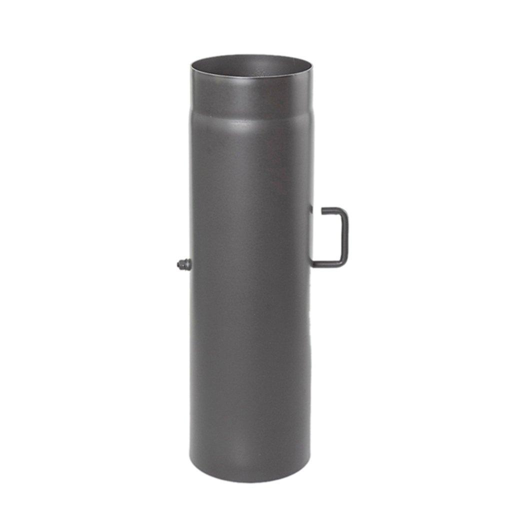 Ø 150 mm Tube droit 50 cm avec Clé de tirage - Gris fonte EHV GmbH