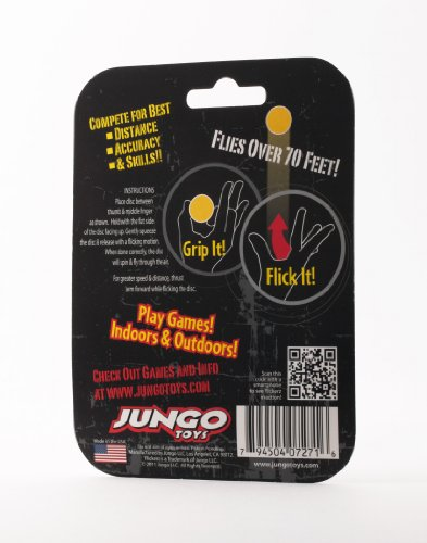 Flickerz Flying Disc, White/Silver Toys Games Toys Pretend ...