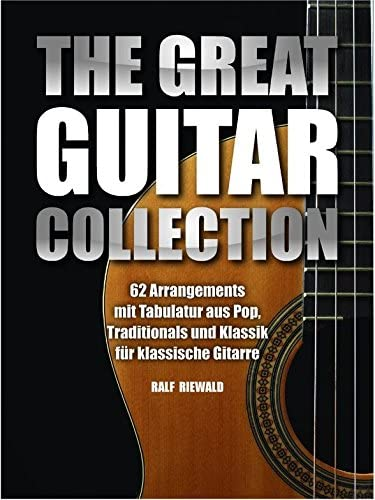 The Great Guitar Collection. Para guitarra, línea de melodía, texto y acordes.: Amazon.es: Instrumentos musicales