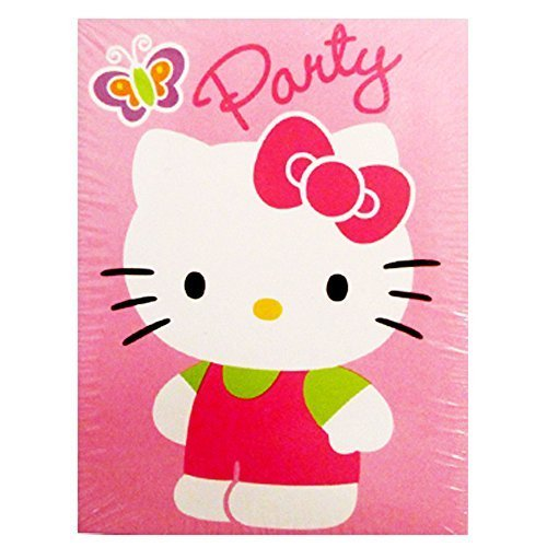 - Hello Kitty Invitations and Thank You Notes w/ Envelopes (8ct ea.)