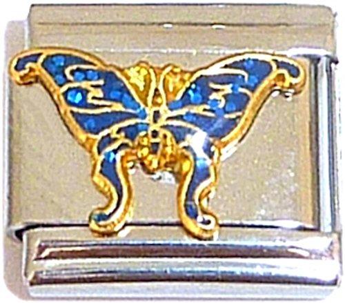 Blue Butterfly Italian Charm ()