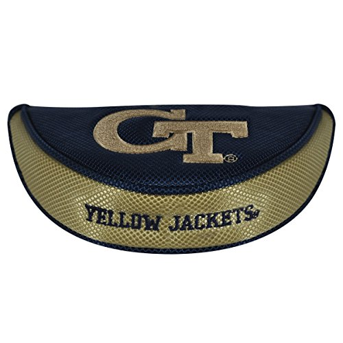 Team Effort Georgia Tech Yellow Jackets Mallet Putter Cover (Tech Headcovers Georgia)