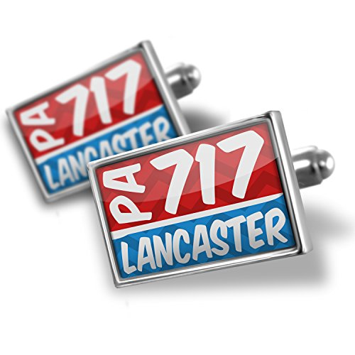- Cufflinks 717 Lancaster, PA red/blue - Neonblond
