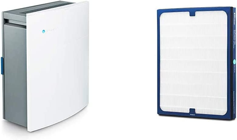 Blueair Classic 280i Air Purifier for Home with HEPASilent Technology and Replacement DualProtection Filter