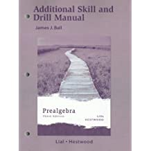 Prealgebra: Additional Skill and Drill Manual