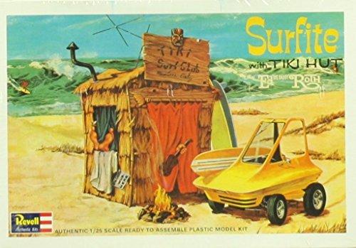Revell 1:25 Surfite w/ Tiki Hut Ed Daddy Roth American Beach Boy Kit #H1240 ()