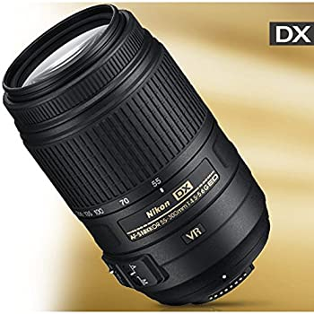 Nikon 55-300mm F4.5-5.6g Ed Vr Af-s Dx Nikkor Zoom Lens For Nikon Digital Slr 1