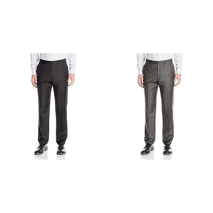 Amazon.com: Calvin Klein Modern pantalones de traje ...