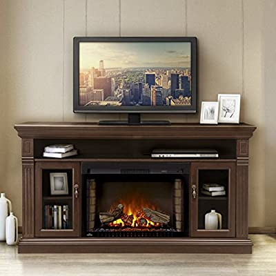 Napoleon The Canterbury 29 in. Electric Fireplace Entertainment Center