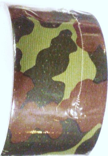 Woodland Camo Pattern (CAMO DUCT TAPE, Woodland Pattern - Camouflage)