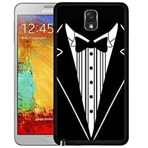 Black And White Tuxedo Hard Snap On cell Phone Case Cover Samsung Galaxy Note III 3 N9000