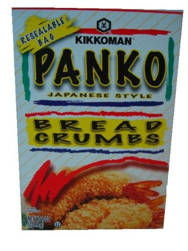 Kikkoman Panko Bread Crumbs, 8-Ounce Packages (Pack of 12)