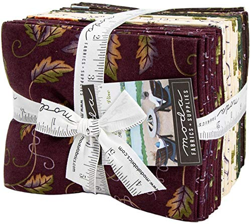 Fresh Off The Vine 24 Fat Quarter Bundle by Holly Taylor for Moda ()