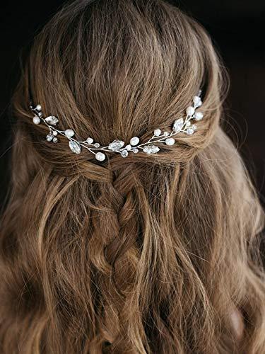 Artio Wedding Hair Vine Accessory Bridal Headpiece for Bride and Bridesmaids -