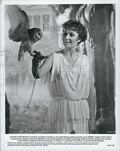 """1981 Force Photo Actress Susan Fleetwood in """"Clash of the Titans"""" Film"""