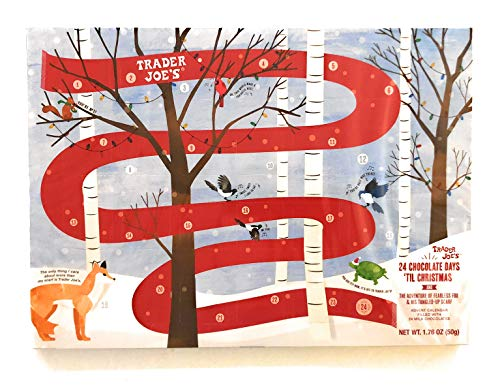 Trader Joes Advent Calendar 24 Chocolate Adventures of Fearless Fox & His Tangled Up Scarf
