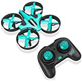 Hobbylane Mini Drone for Kids and Adults, Headless Mode Nano Drone 2.4Ghz 6-Axis Gyro with 3D Flips and LED Lights RC Quadcopter, Great Pocket Drone Gifts for Kids & Beginners (Light Green)