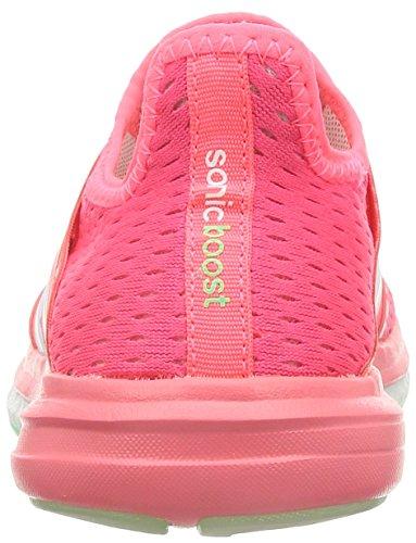 Adidas Kvinners Cc Soniske Boost W, Rosa / Grønn / Hvit Rosa / Grønn / Hvit