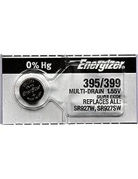 2PC Energizer 395 399 SR927SW SR927W Silver Oxide Watch Battery