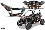 AMRRACING Arctic Cat Wildcat Sport XT Full Custom UTV Graphics Decal Kit WW2