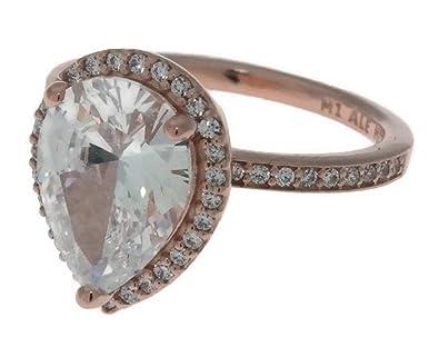 d9890feba Amazon.com: Pandora Rose Radiant Teardrops Ring Size 6 With Clear CZ ...