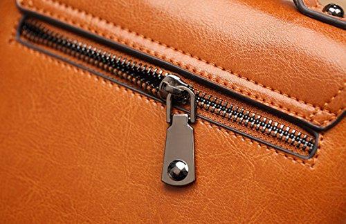 Pequeo Del Casual De Crossbody BAG De Manera La Del Del Bolso Del Bolso Partido XZW Hombro WOMEN'S Viaje Bolso Casual Brown Swa44Z