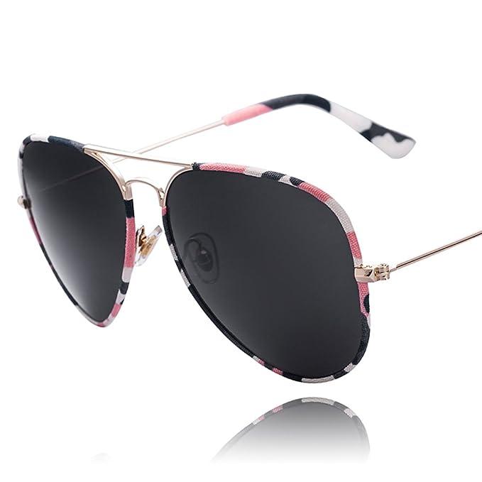 Gafas de sol de camuflaje marco/Espejo de rana/Gafas de sol ...
