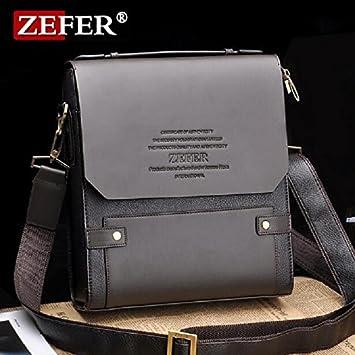 5efb9d1bdf39 Buy Genric big black   ZEFER Brand 2016 Hot Selling High Quality PU Leather  Messenger Bag Fashion Men s Shoulder Bag Casual Briefcase AZ031-05 Online  at Low ...