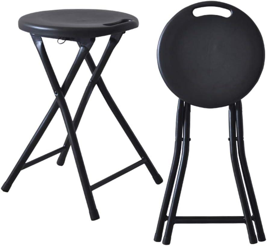 Tabouret Pliant//Chaise Portable de Voyage en Plein air//Salle de Bain Tabouret Rond//Tabouret en Plastique//Tabouret Haut
